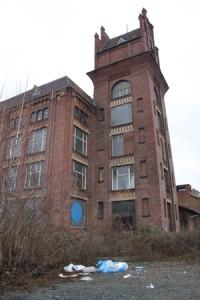 Nix Mehrzweckhalle oder Technisches Rathaus: Salzmann-Industriebrache in Kassel-Bettenhausen.