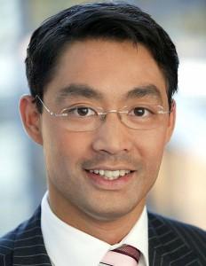 Philipp Rösler - seit Mitte Mai 2011 Parteichef der deutschen Liberalen.