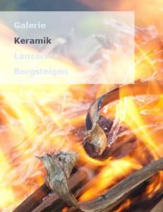 Keramik, Bergsteigen, Lanzarote? Alles auf einmal präsentiert Keramiker Stefan Schultz auf www.lanzarote-ceramic.eu